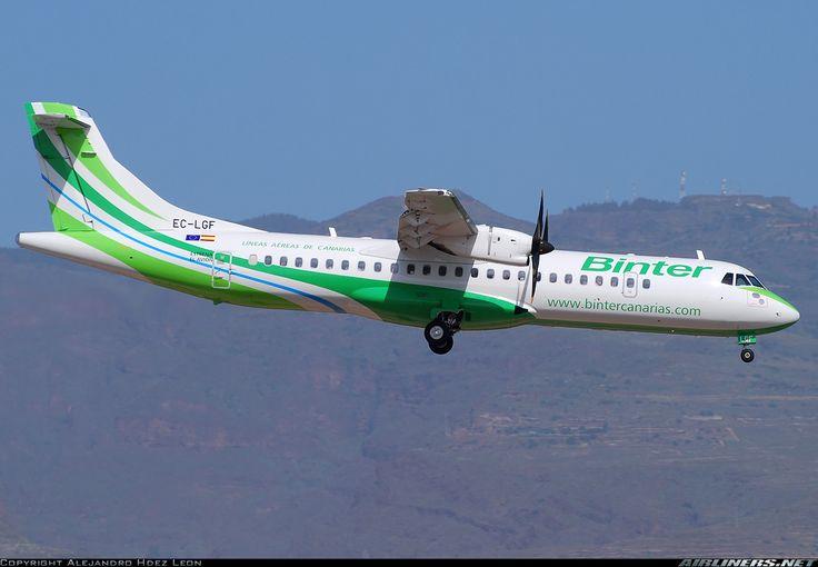 ATR ATR-72-500 (ATR-72-212A) - Binter Canarias (Naysa - Navegacion y Servicios Aereos Canarios)   Aviation Photo #1713153   Airliners.net