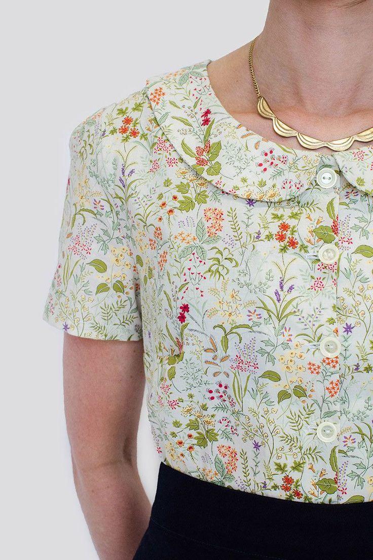 702 besten Modern Sewing Patterns   Women TOPS Bilder auf Pinterest ...