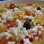 Foto recept: Gebakken spaghettipompoen met feta