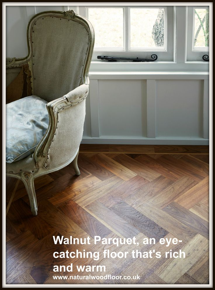 The Natural Wood Floor Companyu0027s Walnut Parquet, Rich And Warm Colouring