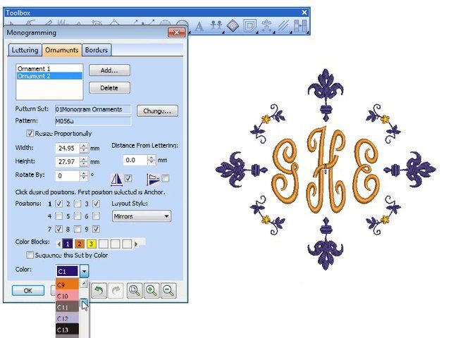 Best monograms images on pinterest embroidery