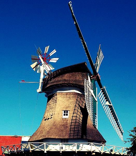 Windmühle auf Norderney, Nordsee / North Sea