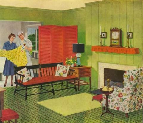 1940s Interior Design 8 Deacons Bench Pinterest