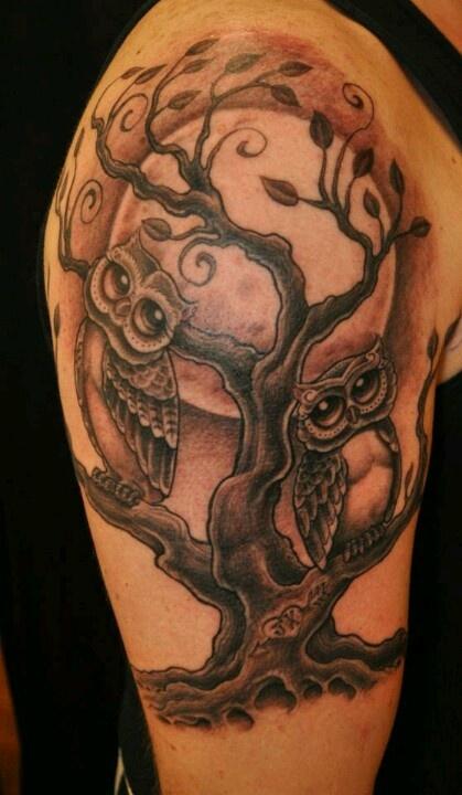 Corey miller Owl tattoos #ink
