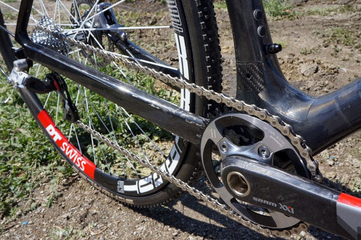 SOC13: GIANT PROTOTYPE ANTHEM, TRANCE 650B MTB'S & ADAM CRAIG'S DISC BRAKE CYCLOCROSS BIKE via bikerumor.com