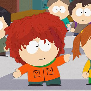 "Kyle's hair is modeled after Matt Stone's self-proclaimed ""Jew fro."""