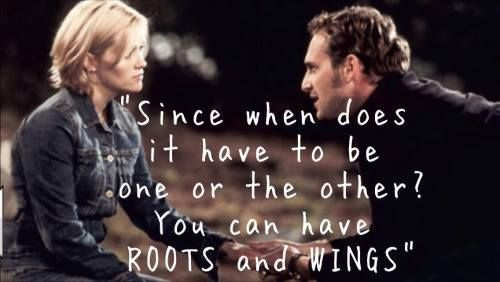 Since when does it have to be one or the other? You can hace roots and wings.