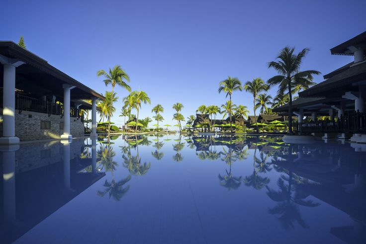 Enjoy the clear blue sky @ Sofitel Mauritius L'Impérial Resort & Spa Hotel #Mauritius