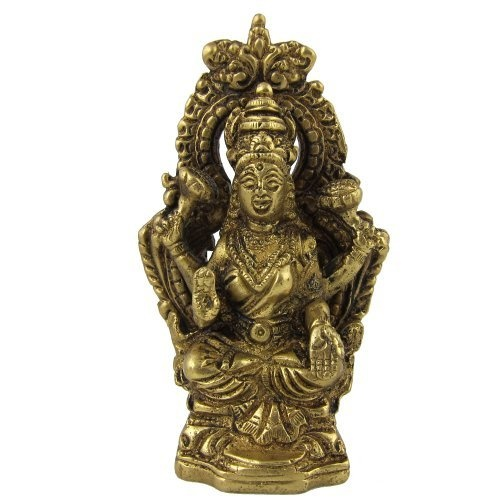 Amazon.com: Hindu Religious Brass Sculpture Goddess Laxmi: Home & Kitchen