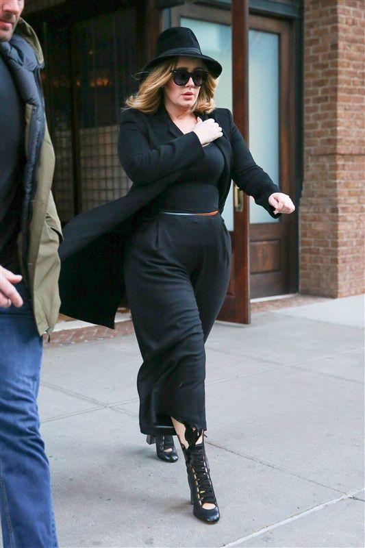 Adele Stylish And Slim In New York Story Wonderwall