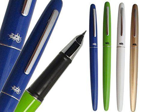 BinaryABC Fountain Pen Jinhao 321 4 Different Colors Luxury Extra Fine Metal with 0.38mm Nib 4pcs/lot