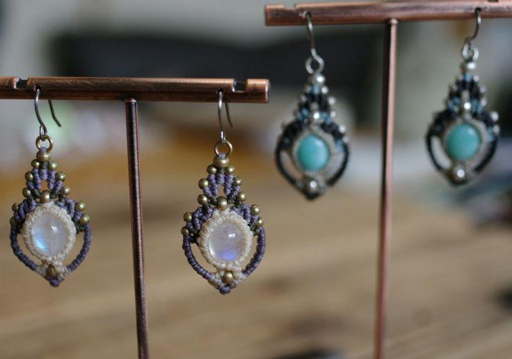 Macrame earrings | Nomad Baco 通信