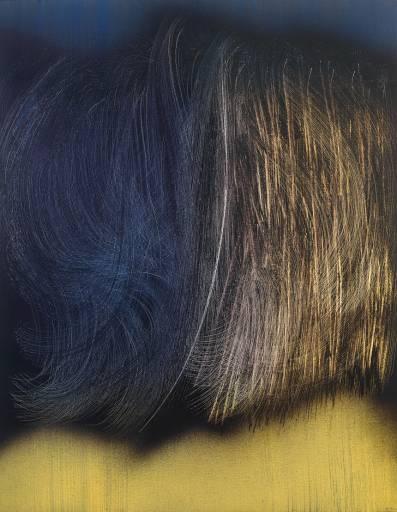 Hans Hartung. Medium: acrylic on canvas. (1963) #art #abstracf
