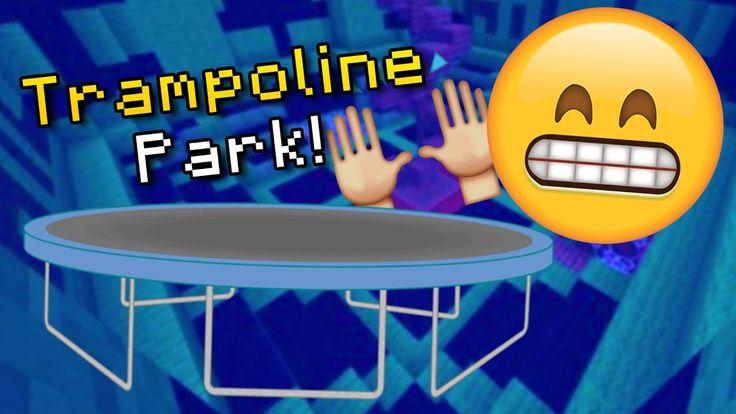 Minecraft TRAMPOLINE PARK Build (How To Build the BEST & BIGGEST Trampoline Park) https://cstu.io/36bd9c