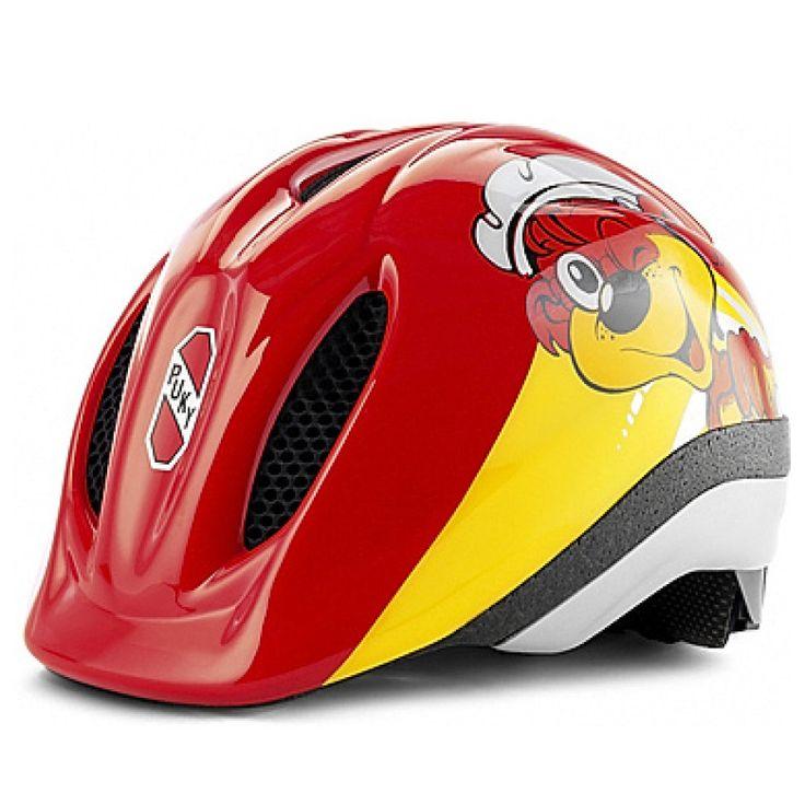 Puky Fahrradhelm PH 1 Größe: M/L #PUKY #Fahrradhelm #rot #gelb #Bär #Drehsystem #anpassen #cool #Jungen #Mädchen #trendig #Sicherheit #safetyfirst #48bis59cm #ab5Jahren
