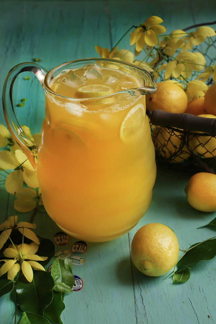 Refrescante, natural y deliciosa limonada de mango, con un toque tropical para disfrutar el verano.