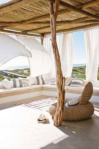 a South African beach house...