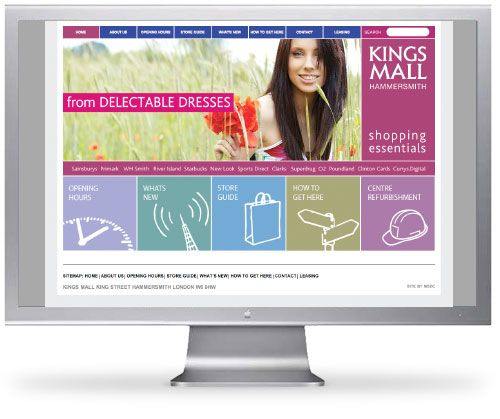 Kings Mall Website