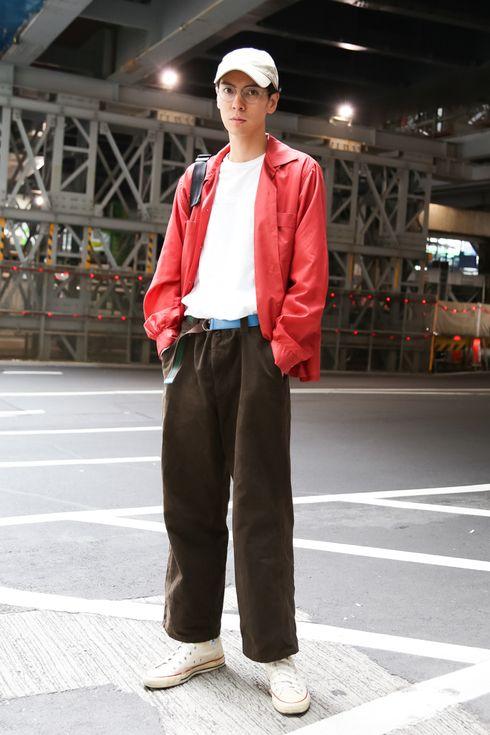 ストリートスナップ渋谷 - ジュアンさん - agnès b., CONVERSE, OLIVER PEOPLES, visvim, アニエスベー, オリバーピープルズ, コンバース, ビズビム