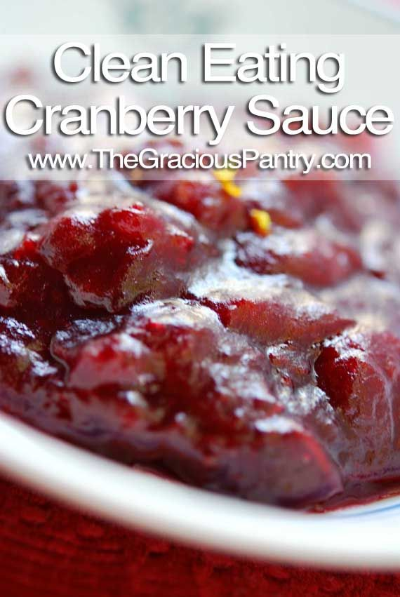 Keeper! Clean Eating Cranberry Sauce. Next time I would try without the cinnamon, but it was very good! I made 1/2 batch and that was still way too much for 7 at dinner.