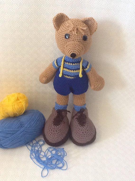 NEW  Amigurumi Teddybear. by EvalestAmigurumi on Etsy