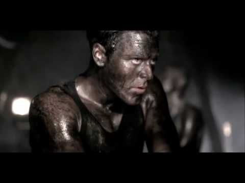 Rammstein - Sonne    If you can find a music video better than this one, by all means be my guest and link it to me - I need to see it!