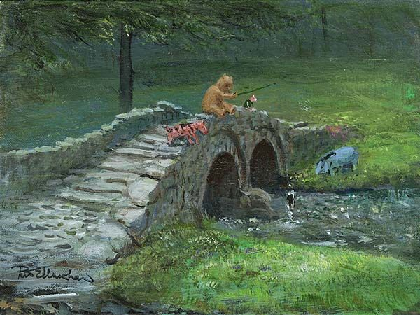 Winnie the Pooh Stone Bridge