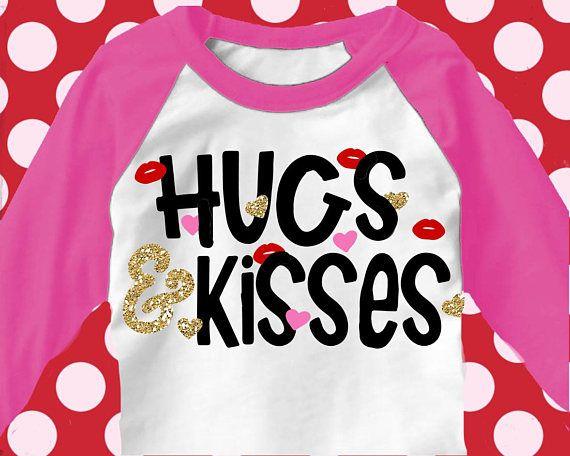 Hugs And Kisses Svg Valentines Day Svg Svg Valentines Valentines Day Shirt Love Svg V Valentines Day Shirts Kids Valentines Shirts Valentine Shirts Vinyl