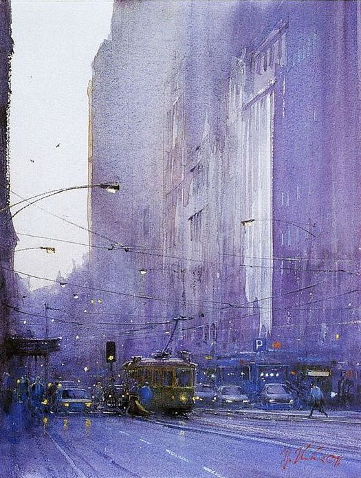 -Online Browsing-: Joseph Zbukvic: a member of the Victorian Watercolor Society VIA David Rodriguez