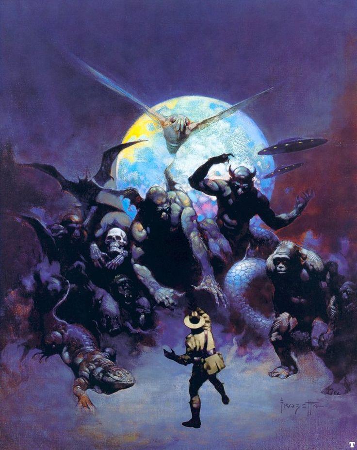 The Vault of Retro Sci-Fi — cthulhu-hand-luke:   Frank Frazetta
