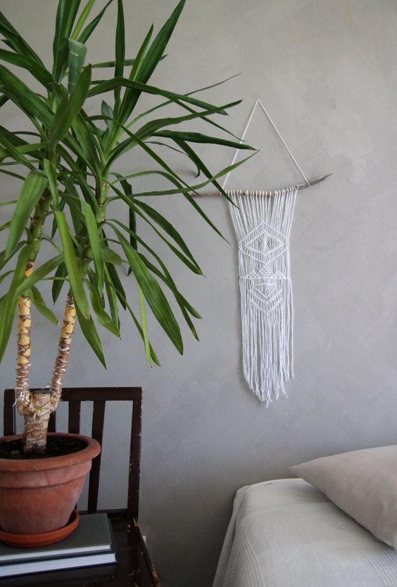 "Macramé Wall Hanging ""Anah"" - By Helga M. on Etsy / Modern macrame / Boho Macrame / Boho decor / handmade macrame / handmade decor / boho interior"