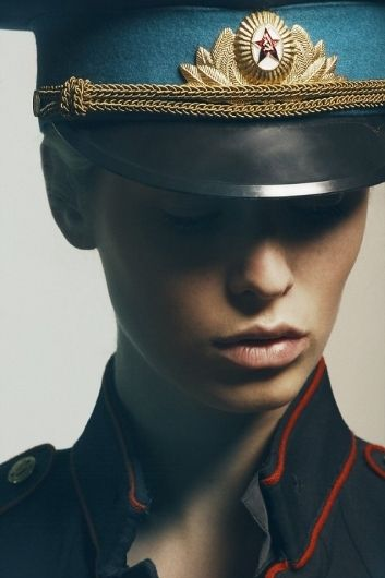 Fashion Photography by Christophe Roue . Russian Uniform