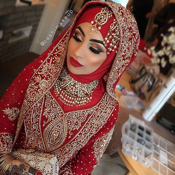 30 sublimes mariées portant le hijab le jour de leur noce - page 4