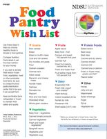 Want to donate something useful to the local food pantry? Here are some ideas.