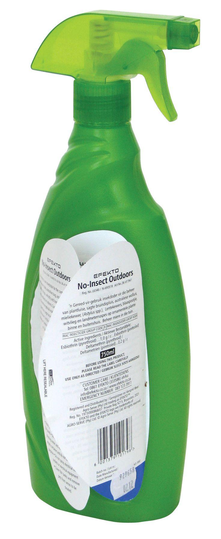 Efekto Agrochemical Fix-a-Form® leaflet-label