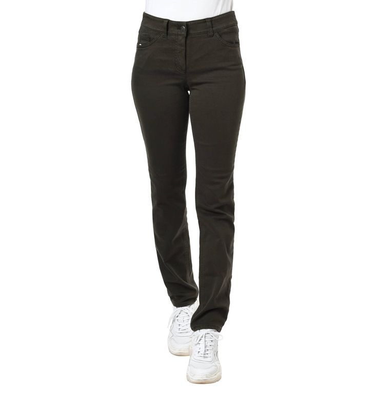 "Jeans ""Best4me"", Slim Fit, Gürtelschlaufen, Marken-Patch"
