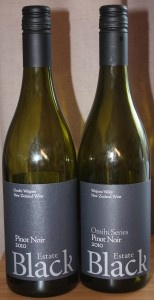 The 2010 Black Estate Pinot Noirs