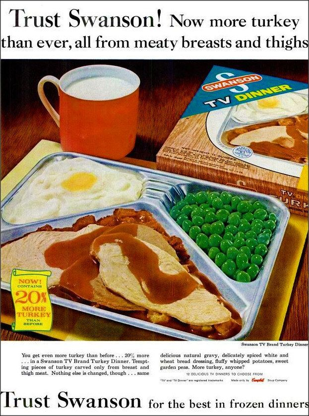 TV Dinners | 19 Things That Will Make Every Baby Boomer Feel Like A Kid Again