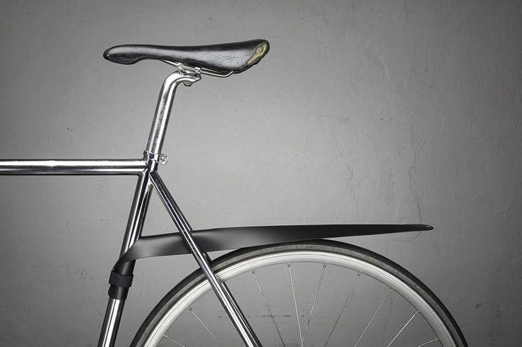 MUSGUARD la salpicadera minimalista enrollable, para bicis de ciudad [con video] - Bike T3CH
