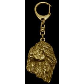 Keyring gilded with gold trial 999 (1)