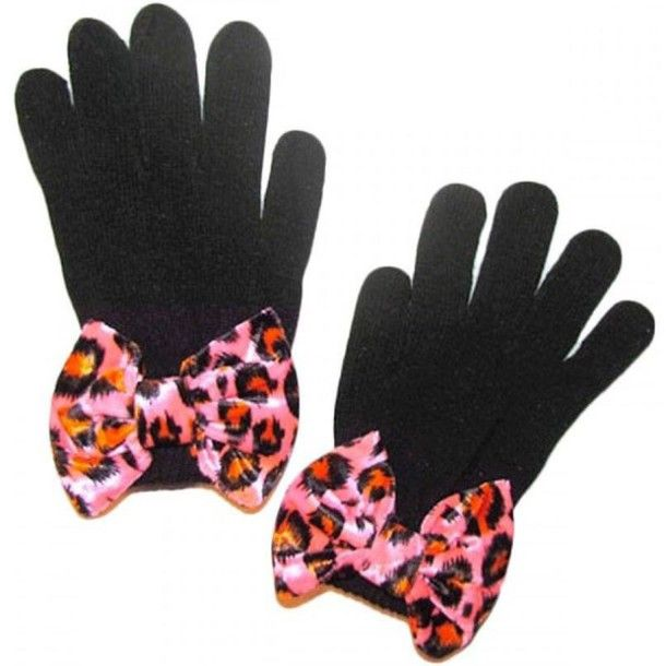cute bow gloves mittens amp gloves pinterest gloves