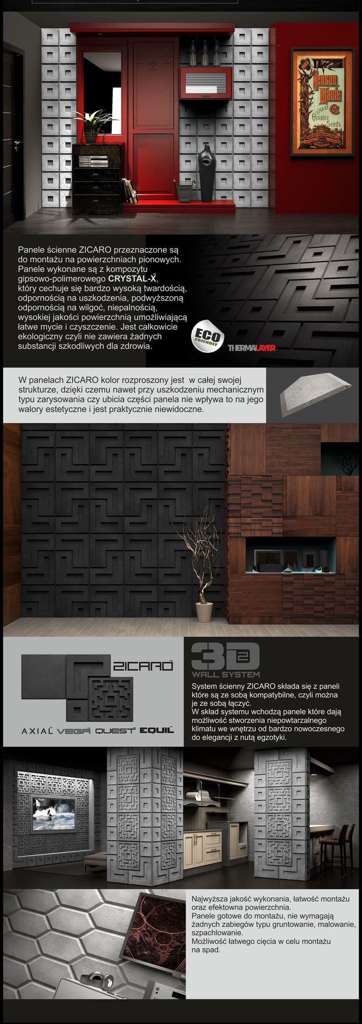 ZICARO - producent - panele ścienne 3D