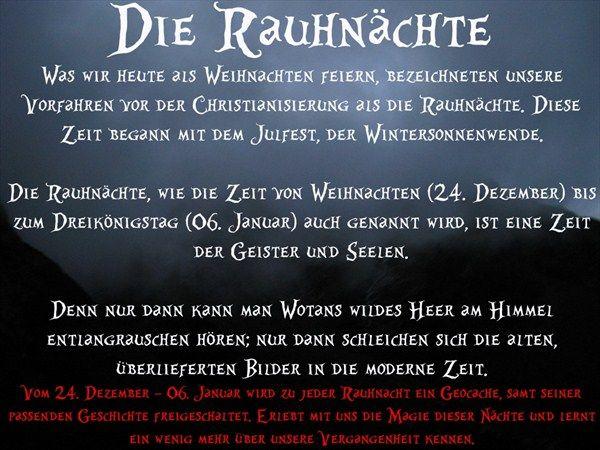 GC38TG4 Rauhnächte - Die sieben Hexen (Traditional Cache) in Nordrhein-Westfalen, Germany created by www.geocaching-heinsberg.blog.de
