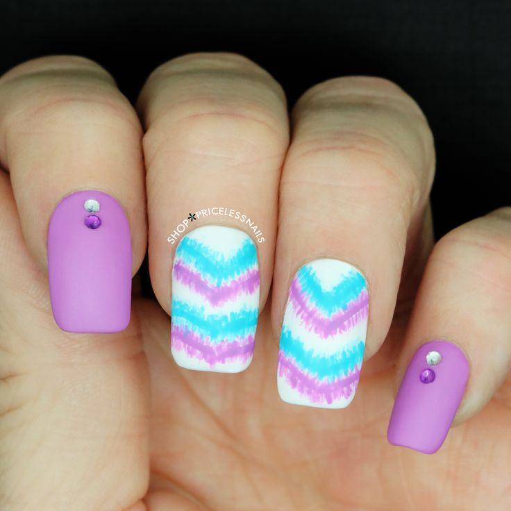 64 Best Tie Dye Nail Art Designs Images On Pinterest Tie Dye Nails