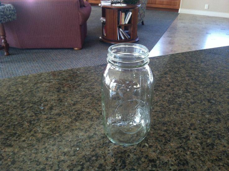 empty jar