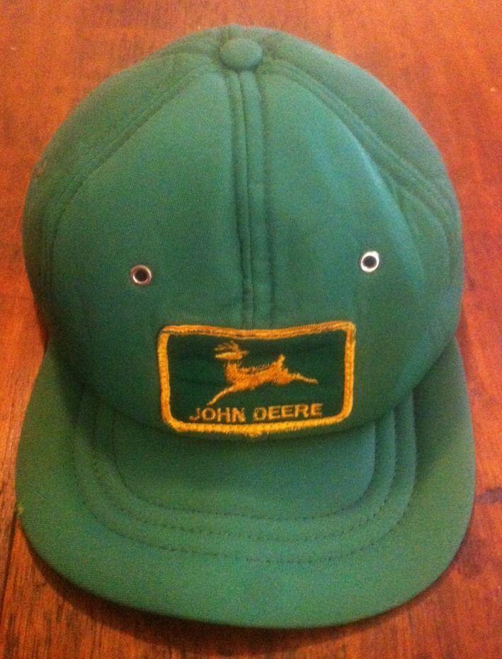 Vintage John Deere Foam Avon Sportswear Snapback Trucker Hat Adjustable