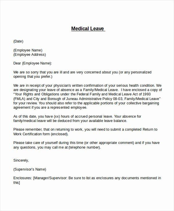 Leave Of Absence Letter For Personal Reasons Elegant Leave Of Absence Letter Templates Va In 2020 Letter Templates Free Resignation Letter Format Doctors Note Template