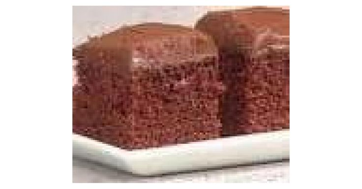 Boiled Family Chocolate Cake