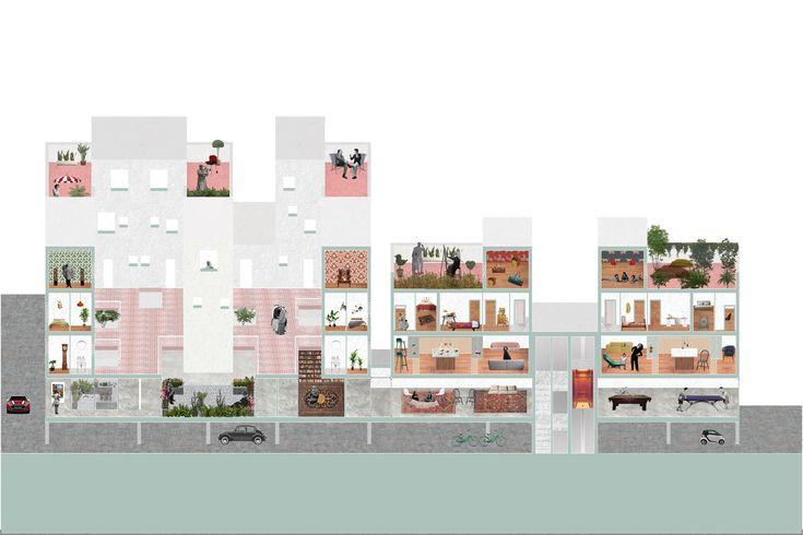 Social Housing for 100 Syrian Refugees, Toronto // Osman Bari