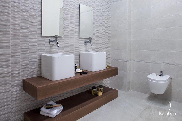 #Baño #Keraben de la colección BRANCATO #projects #baño # ...